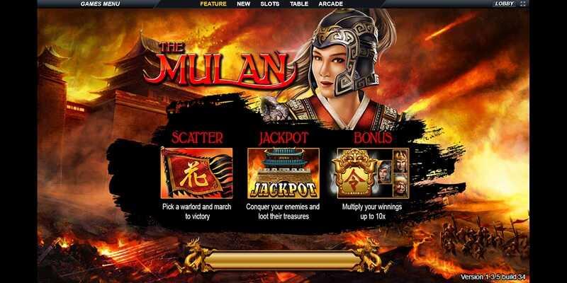 แนะนำ Mulan เกม Slot Online